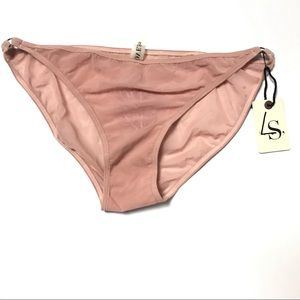 Love Stories Women Sheer Panties Underwear S Pink